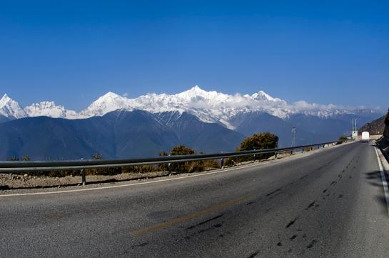 Scenery along Shangri-La