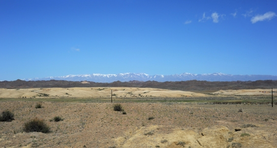 View along the road, Xinjiang