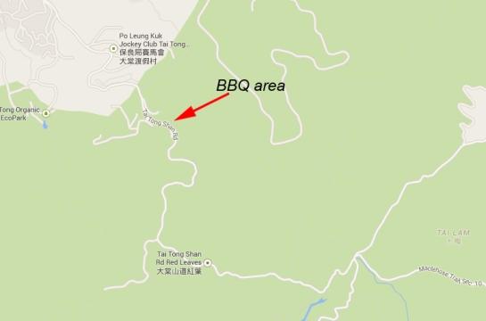 Tai Tong Country Park area for birding