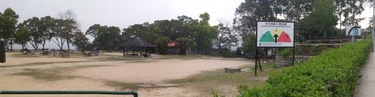 BBQ area at Tai Tong